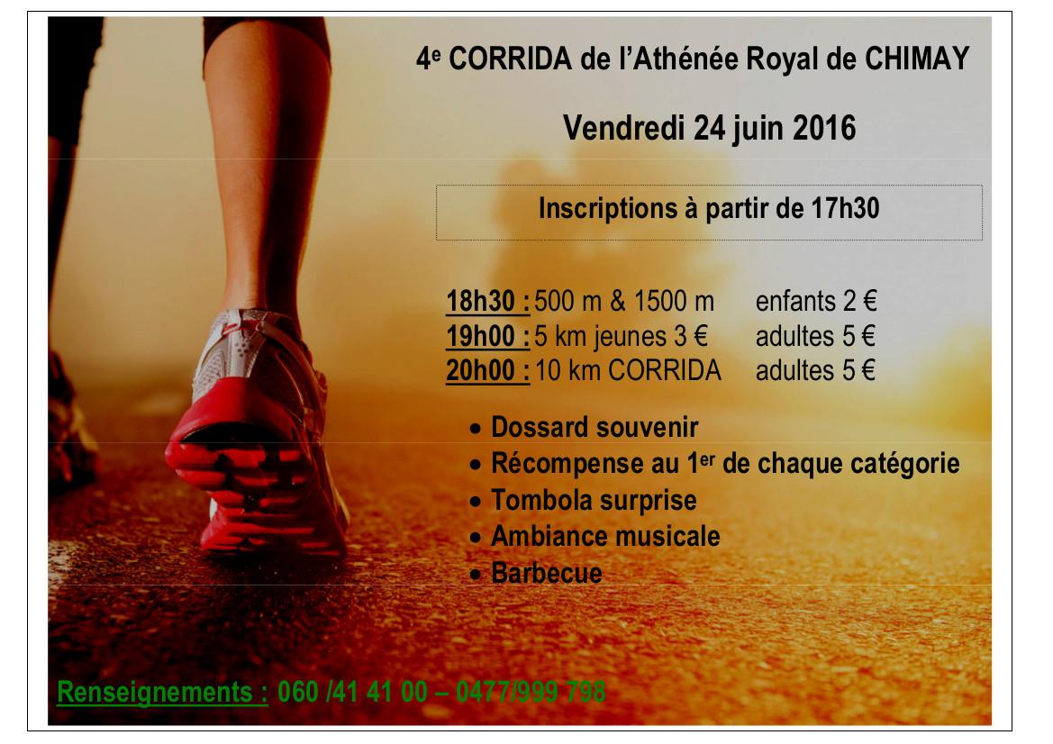 2016 affiche corrida 2016 a4