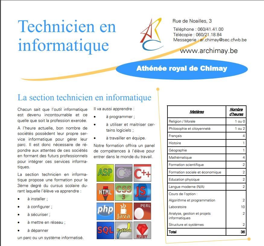 Technicien info